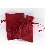 12 Jewelry Pouches Gift Bag Metallic Sparkle Fa... - $14.99
