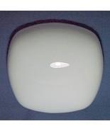 Neckless Ceiling Fan Light Globe White Glass Sh... - $17.95