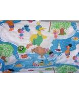Sesame Street Muppets Twin Fitted Sheet Cutter ... - $8.93