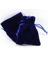 10 Jewelry Pouches Gift Bags Velvet Royal 6 X 9... - $21.99