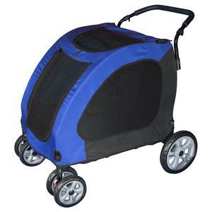 Pet Gear Expedition BIG DOG XL Stroller Capacity 150 lbs Blue Sky