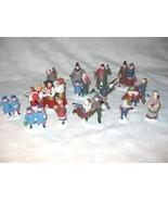 Dept 56 Heritage Village HV Lot Of 15 People Figurines - $30.00