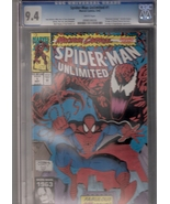 Spider-Man Unlimited #1 CGC Graded 9.4 - $25.00