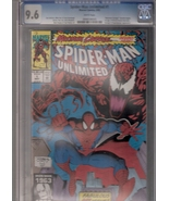 Spider-Man Unlimited #1 CGC Graded 9.6 - $48.00