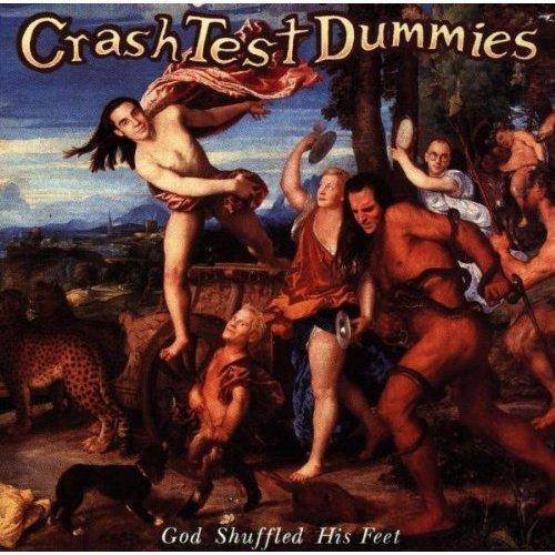 Anthropologie bedding - God Shuffled His Feet By Crash Test Dummies Cd Arista 1993