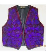 New embroidered Artesania Popwuh purple, burgun... - $30.00