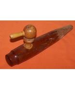 Vintage 1940 Wooden Keg Handle  Knob  Pour Spout - $25.00
