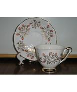 Vintage Queen Anne English Bone China Cup & Sau... - $20.00