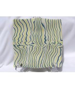 Hand Colored Porcelain Wavy Plate RKC01 - $50.00