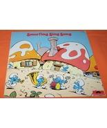Smurf Sing Along Record Vinyl 33 RPM LP - $10.00