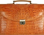 Buy Briefcases - MENS GENUINE ALLIGATOR LEATHER BRIEFCASE TAN DCM39-S