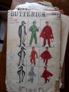 Butterick #3274 Devil Costume for Boys & Men
