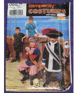 Simplicity 0640 Costume Pattern Peter Pan Capt ... - $6.99
