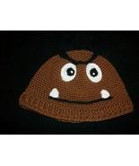 Mario Nintendo Goomba Crochet hat Cosplay Costume - $25.00