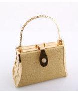 925-GLD Gold Evening Bag - $20.00
