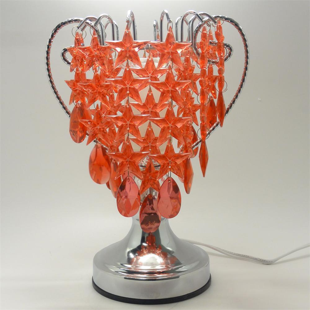 Image 0 of Red Stars  Electric Glass Oil or Tart Warmer
