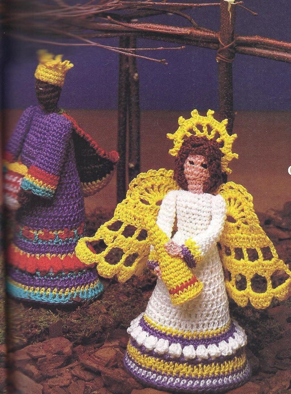 Free Crochet Patterns Nativity Scene : NATIVITY CROCHET PATTERN ? Crochet For Beginners
