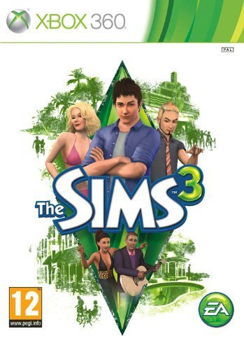 The Sims 3, xbox 360 game