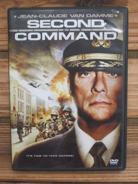 Second In Command Jean Claude Van Damme DVD Movie