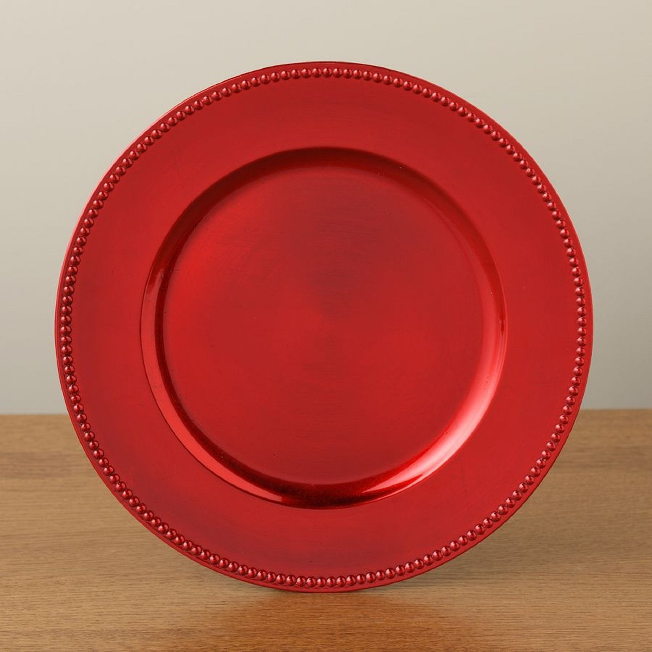 Christmas Crafts With Red Plates