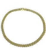 ParisJewelry.com 14k Two-tone Gold Fedora Neckl... - $799.00