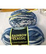 Sensations Rainbow Classic Yarn plus Knitting Needles - $5.79