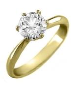 ParisJewelry.com 14K Solid Yellow Gold 1/2 Cara... - $679.00