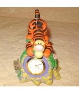 Disney Resin Tigger Time Figure Desk Clock By F... - $9.99