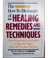 Prevention Healing Remedies & Techniques Book Hardcover