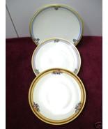 BAVARIA CAKE PLATES SET ANTIQUE VINTAGE GERMAN ... - $42.00