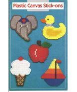 Plastic Canvas Stick-Ons 14 Designs Annie's Attic - £4.81 GBP