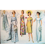 Simplicity 6352 Vintage 60s Pattern Jr 11 Weddi... - $14.95