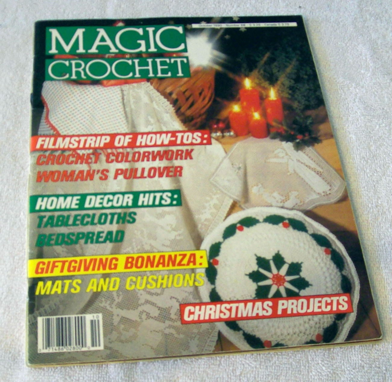 Magic Crochet Magazine : Magic Crochet Magazine October 1990 Number 68 - Mixed Crochet