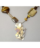 Abstract Bunny Pendant One Of A Kind Handmade S... - $45.00