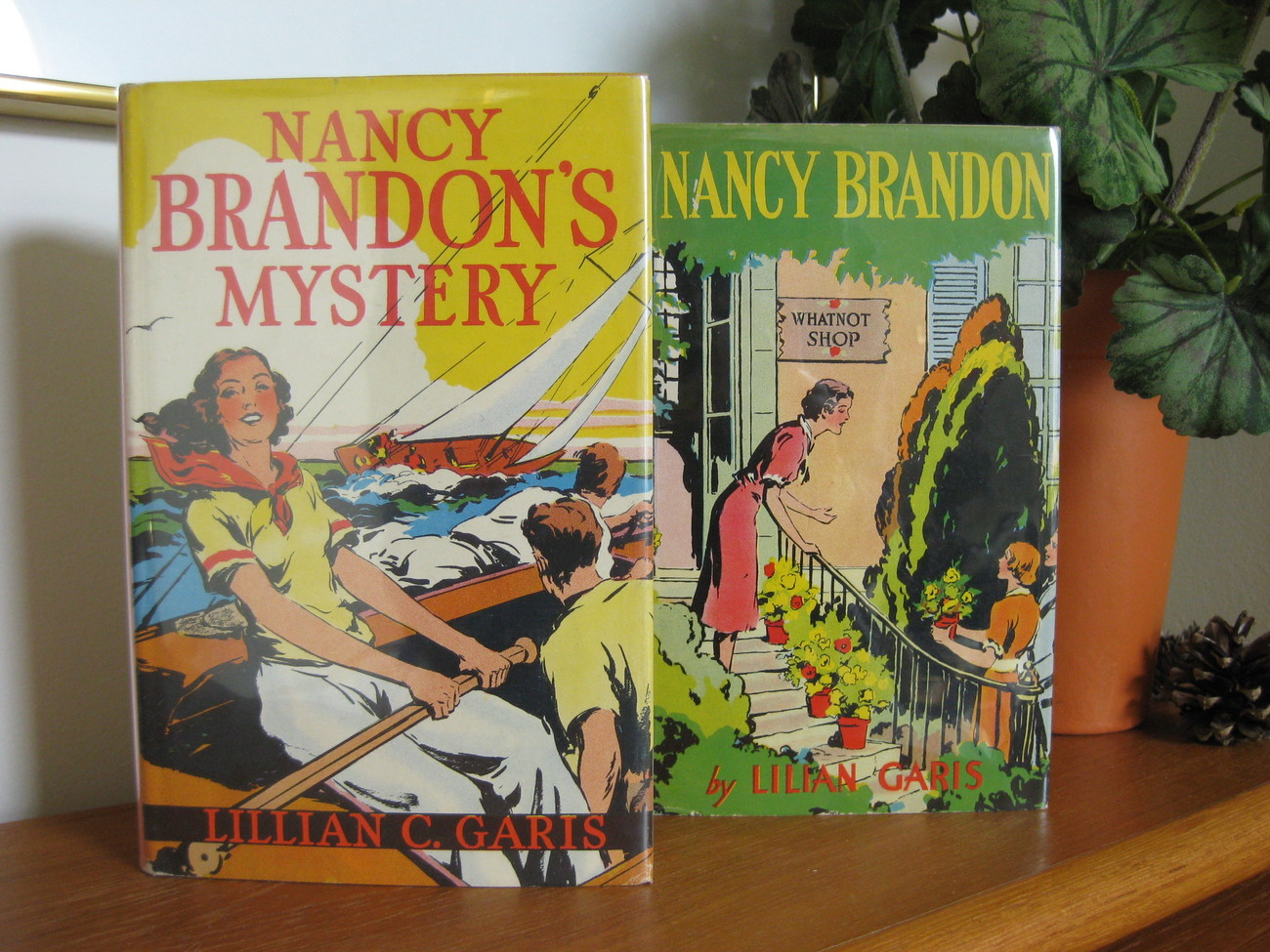 NANCY BRANDON BOOK SET * LILIAN GARIS * DJ * NICE!