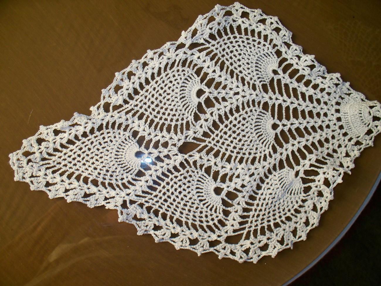 Crocheting Doilies : Handmade Crochet Doilies - Crochet Club