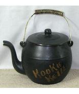 Vintage McCoy Black Teapot Kookie Kettle Cookie... - $16.99
