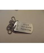 Fallen soldier memorial dog tag - $20.00