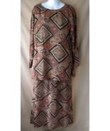 4 Vintage Carole Little Tunic Skirt Set Rayon G... - $49.99