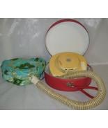 Vintage Lady Vanity Hair Dryer with Red Case - $40.00