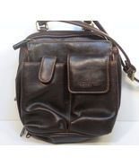Rosetti Brown Cross Body Messenger Shoulder Bag Purse Organizer