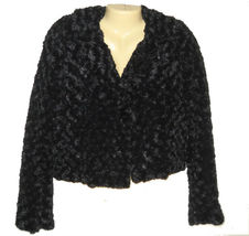 Candies-black-fuax-fur-jacket-blazer-juniors-womens-beaded_thumb200