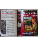 Nancy Drew #9 SIGN OF THE TWISTED CANDLES 1960B... - $24.00