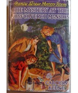 Nancy Drew #18 MYSTERY AT THE MOSS-COVERED MANS... - $100.00