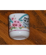 Cat Candle Taper Holder By Funny Design W. Germany - $3.99
