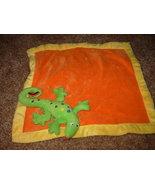 Blankets and Beyond orange lizard iguana securi... - $12.50