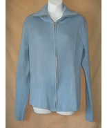 XXL For the Republic Cotton Zip Cardigan Sweater - $5.00
