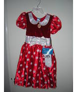 NWT DISNEY STORE MINNIE MOUSE HALLOWEEN COSTUME... - $35.00