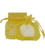 60 Organza Jewelry Pouches Gift Bags 3 X 4 Daff... - $28.99
