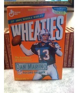 Collectible Wheaties Cereal Dan Marino Record Breaker